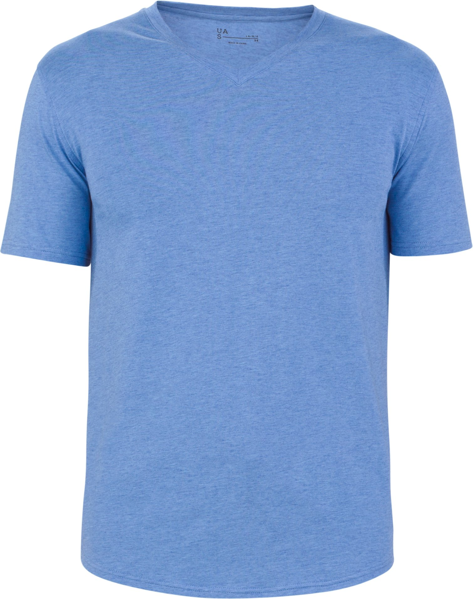 UAS Highline Cashmere-Cotton V-Neck, ROYAL LIGHT BLUE, undefined