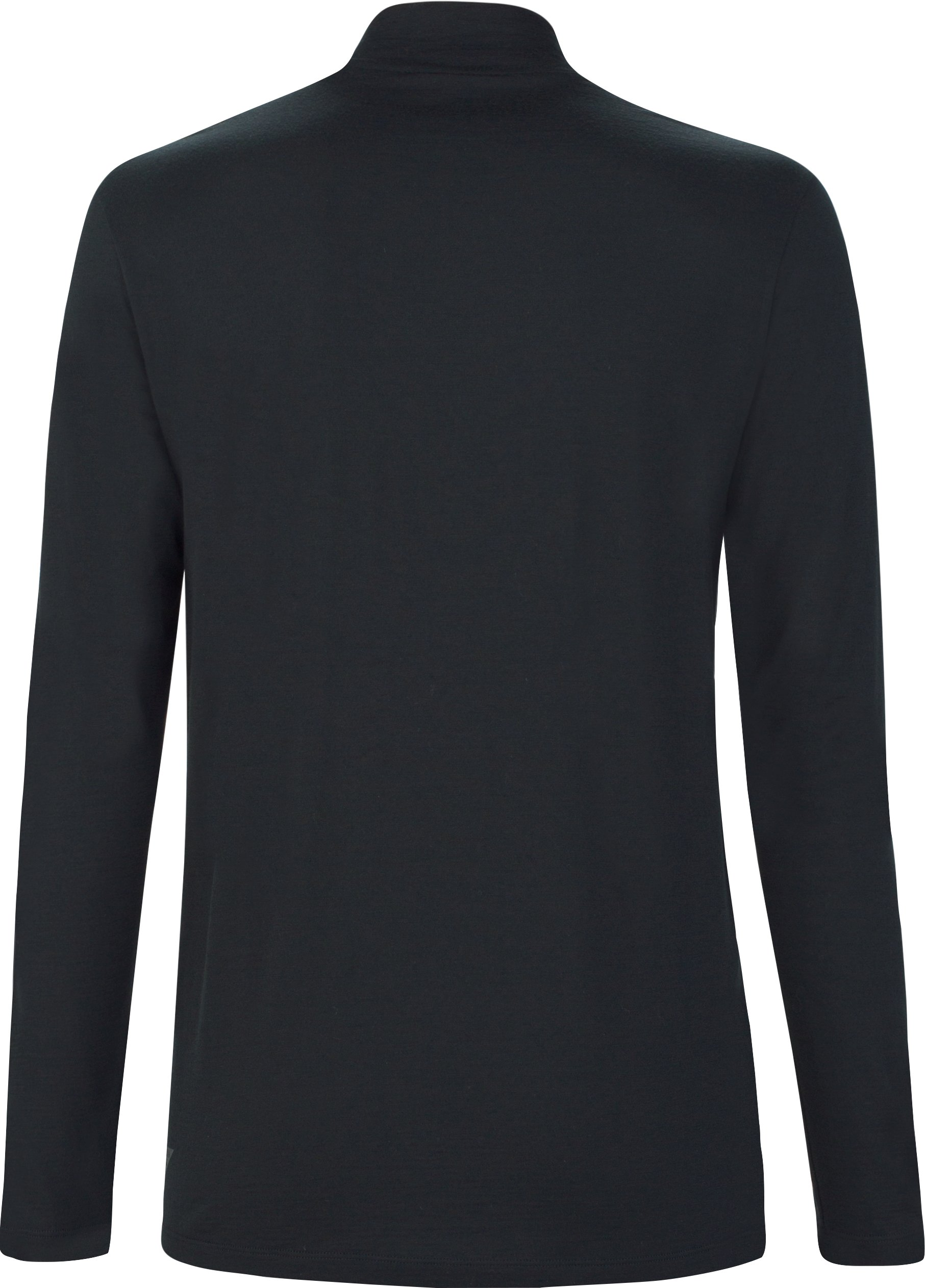 Men's UAS Prime Long Sleeve Mock, Black