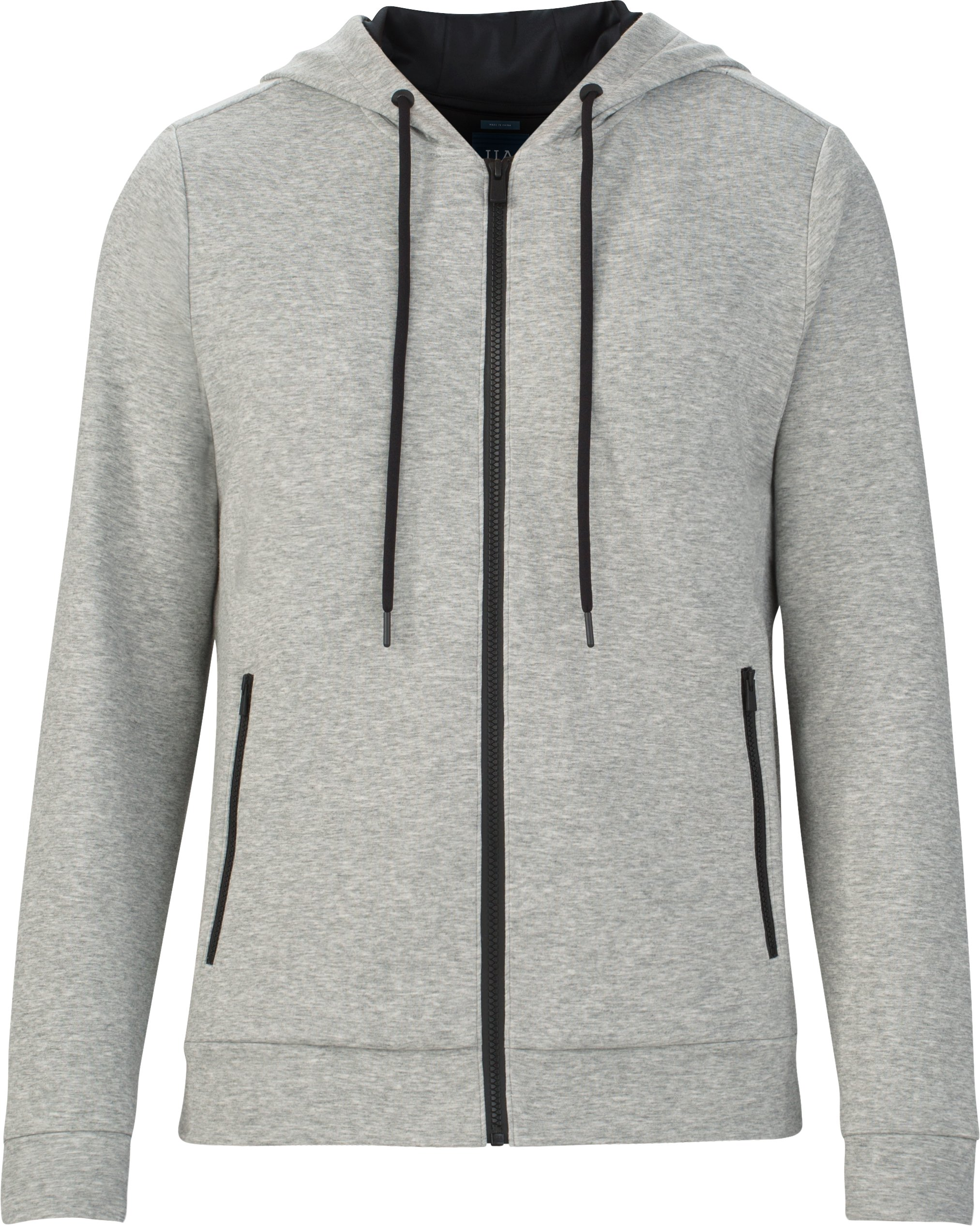 Men's UAS Tailgate Full Zip Hoodie, LIGHT HEATHER GRAY