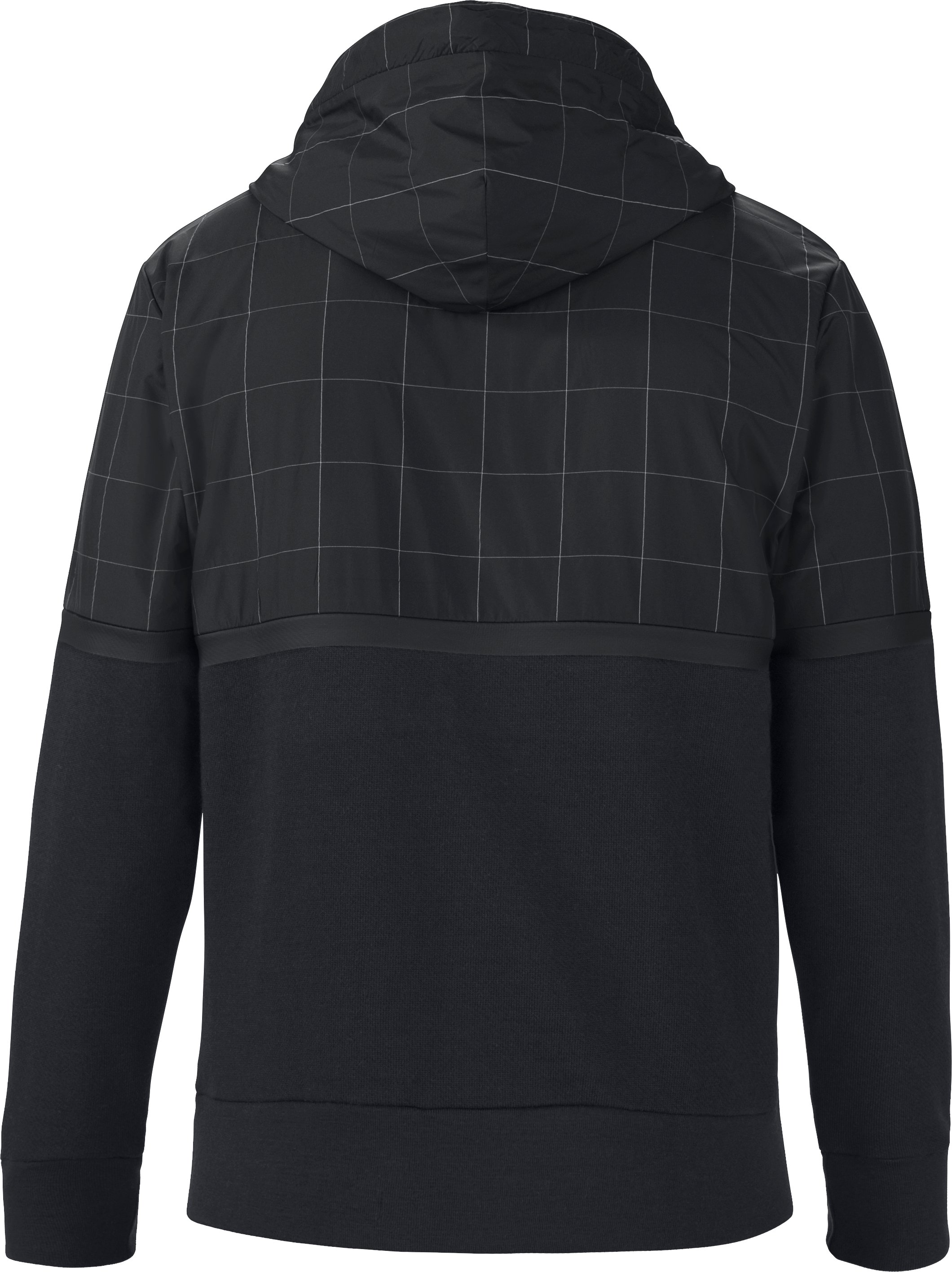 Men's UAS Pivot Terry Hoodie, Black , undefined