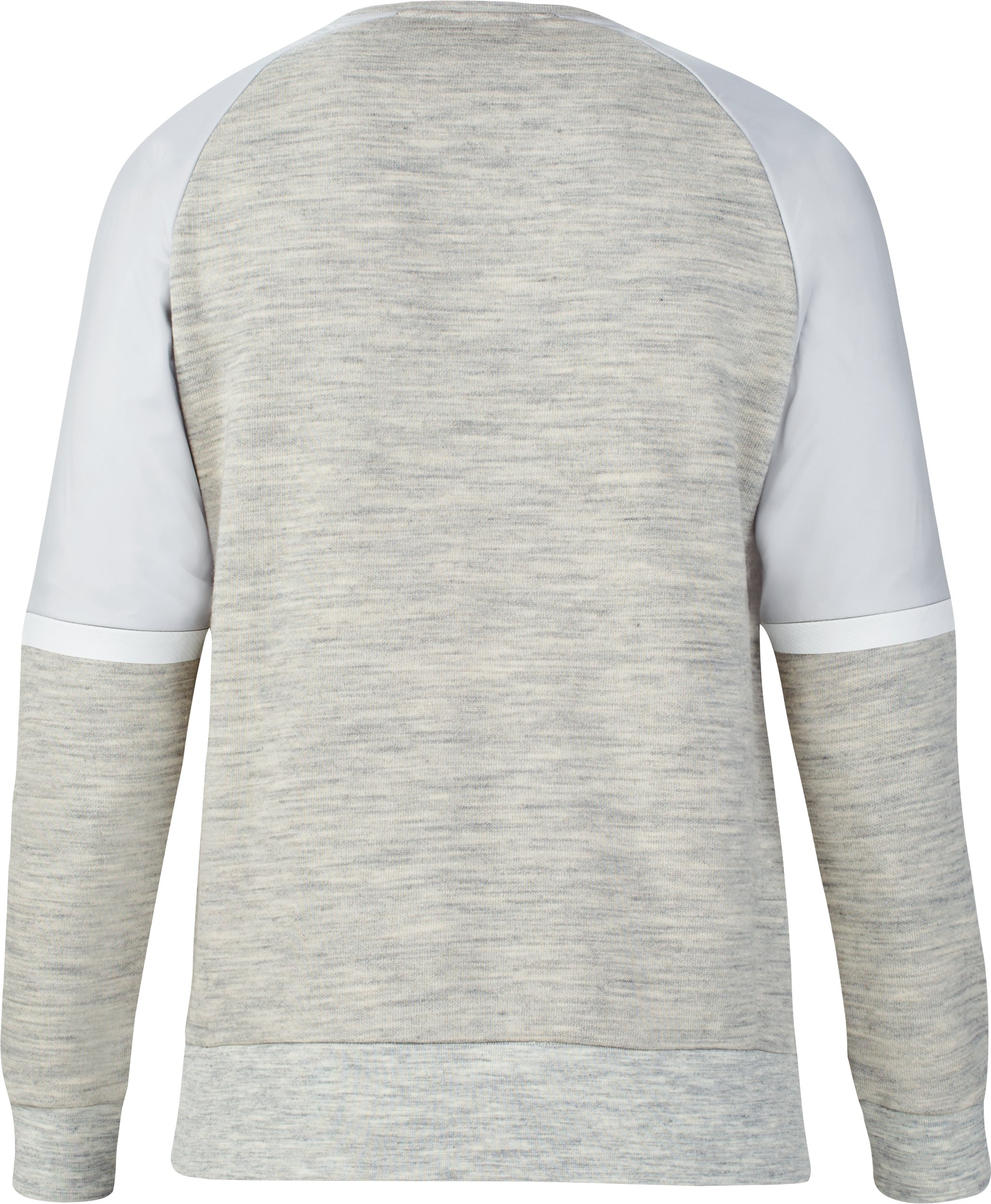 Men's UAS Pivot Terry Sweatshirt, Light Gray,
