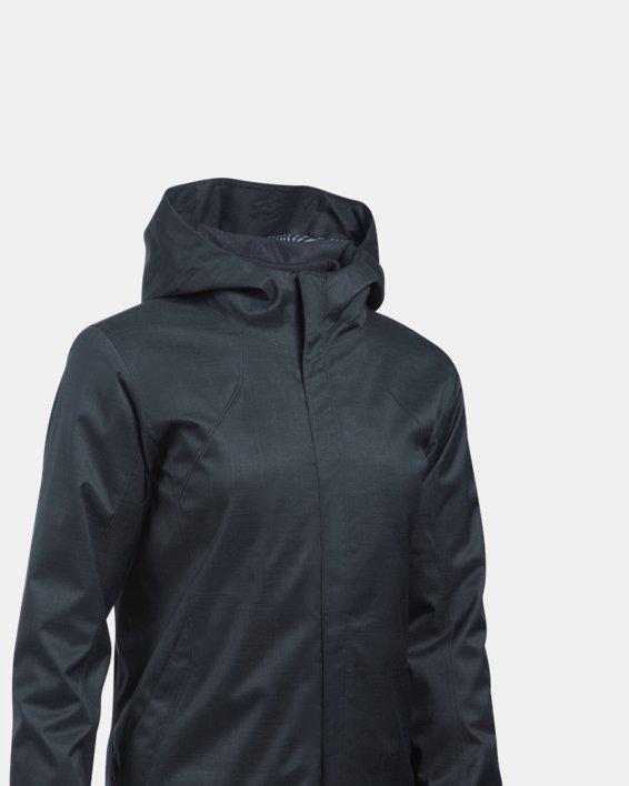 Women's UA Sienna 3-in-1 Jacket, Black, pdpMainDesktop image number 3
