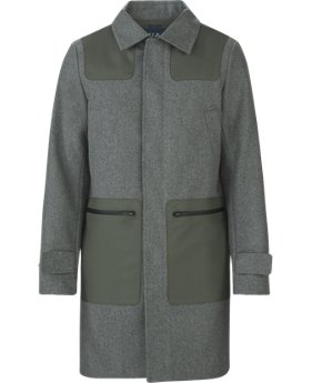 New Arrival Fieldhouse Trench Wool  1 Color $549