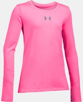 Girls' ColdGear® Crew  2 Colors $33.74