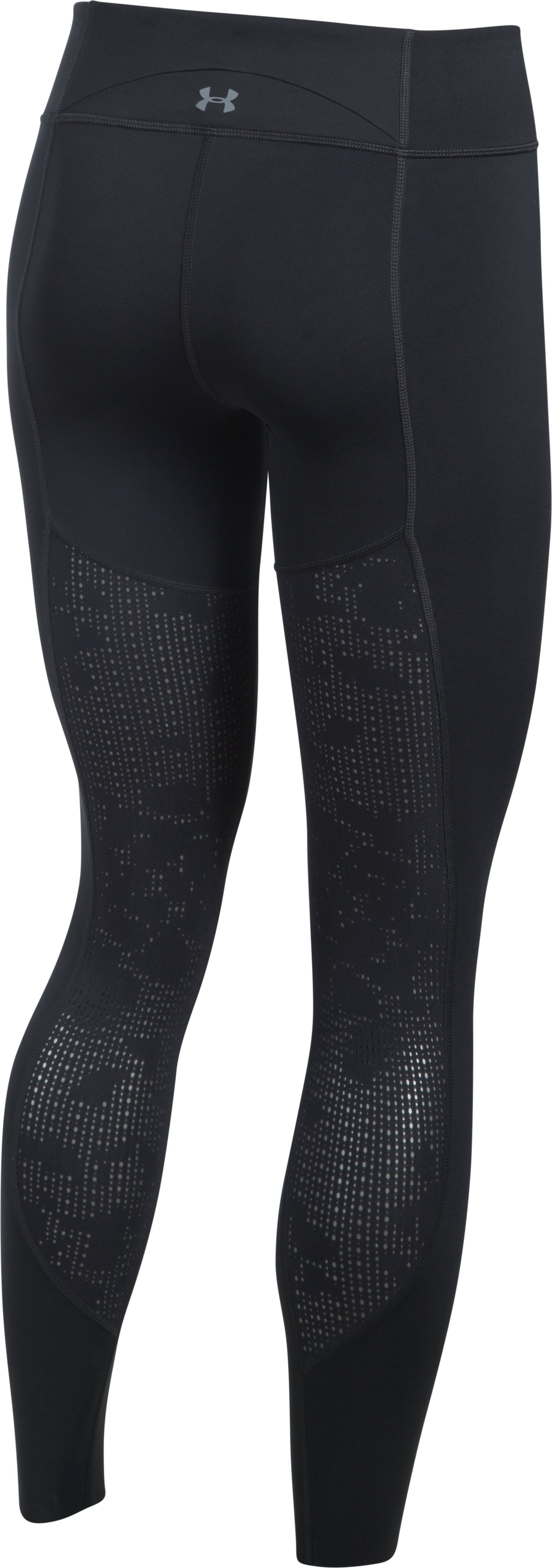 Women's UA Mirror BreatheLux Engineered Q2 Leggings, Black ,