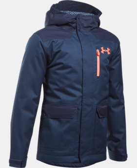 New Arrival Boys' UA ColdGear® Reactor Yonders Parka  1 Color $139.99