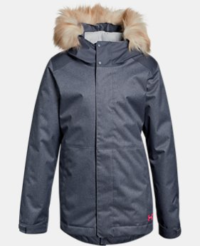 New Arrival Girls' ColdGear® Reactor Yonders Parka  1 Color $139.99