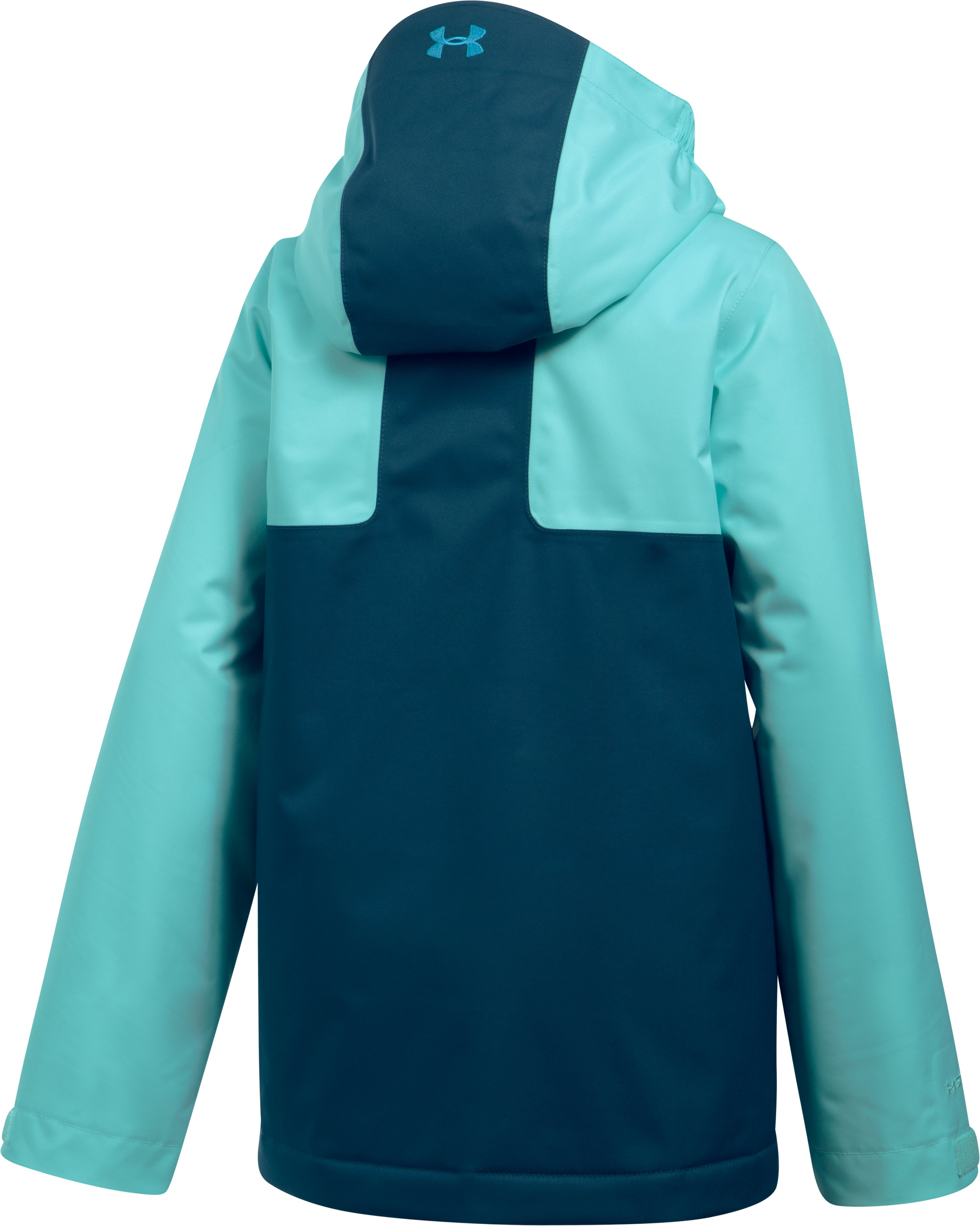 Girls' UA Rideable Jacket, BLUE INFINITY, undefined