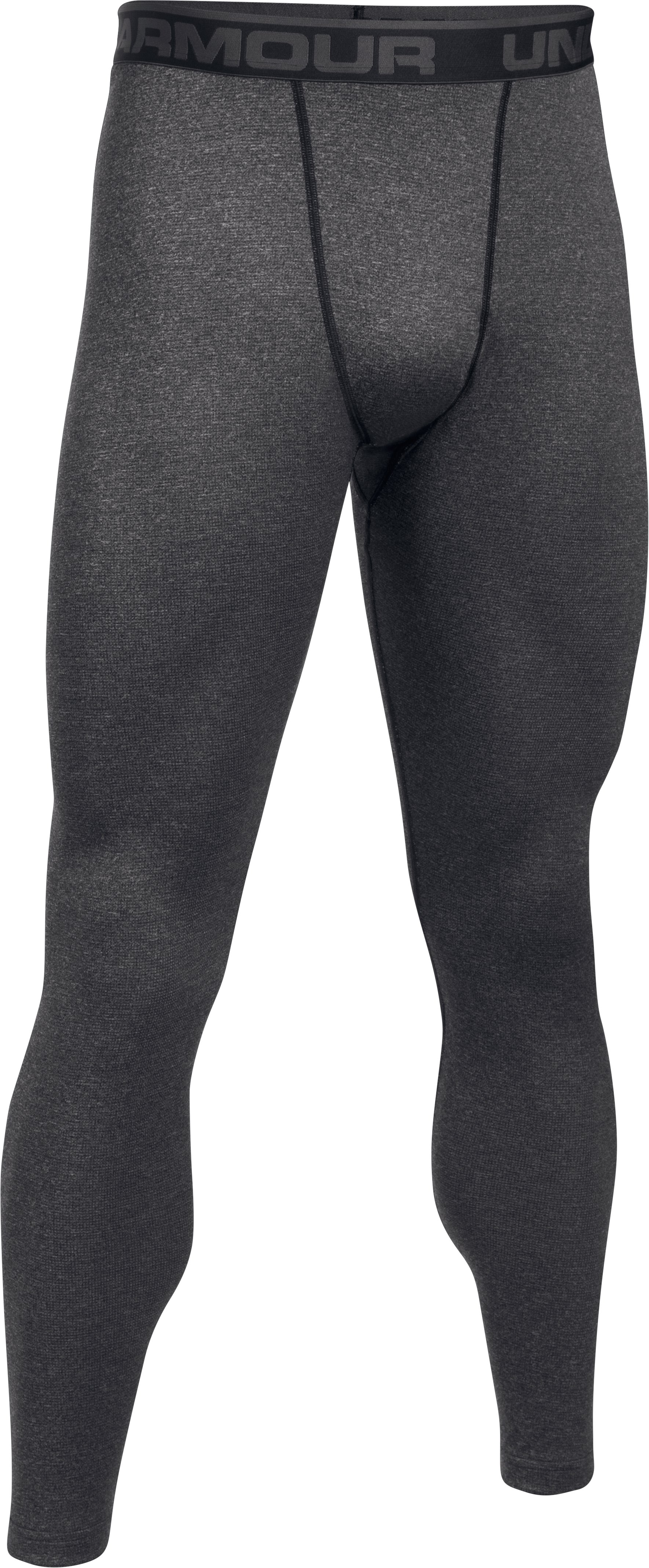 Men's UA Base™ Wool Leggings, Black , undefined