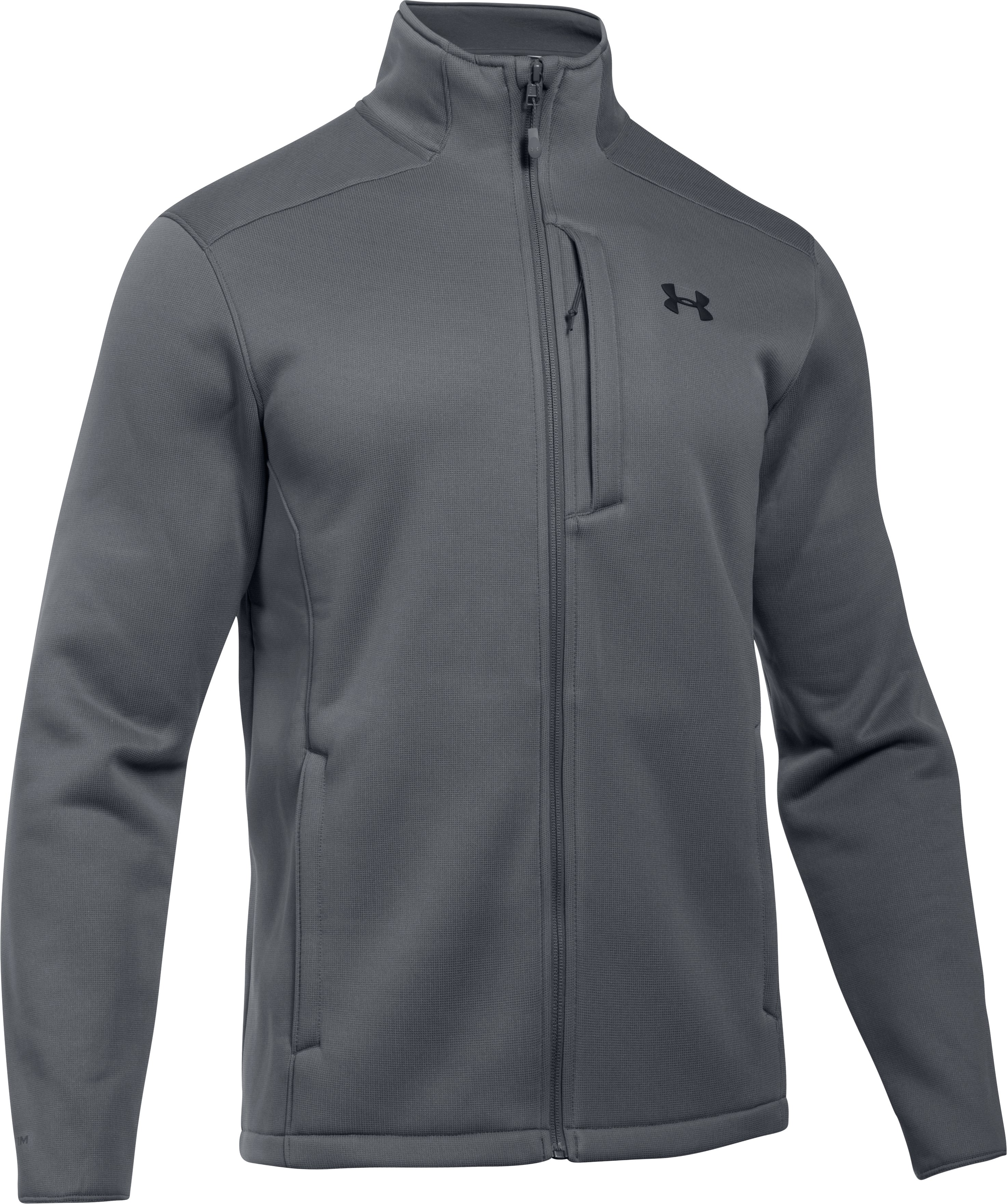 Men's UA Storm Extreme ColdGear® Jacket, RHINO GRAY, undefined