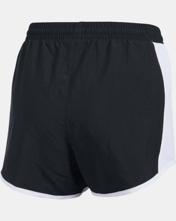 Women's UA Fly-By Shorts, Black, pdpMainDesktop image number 8