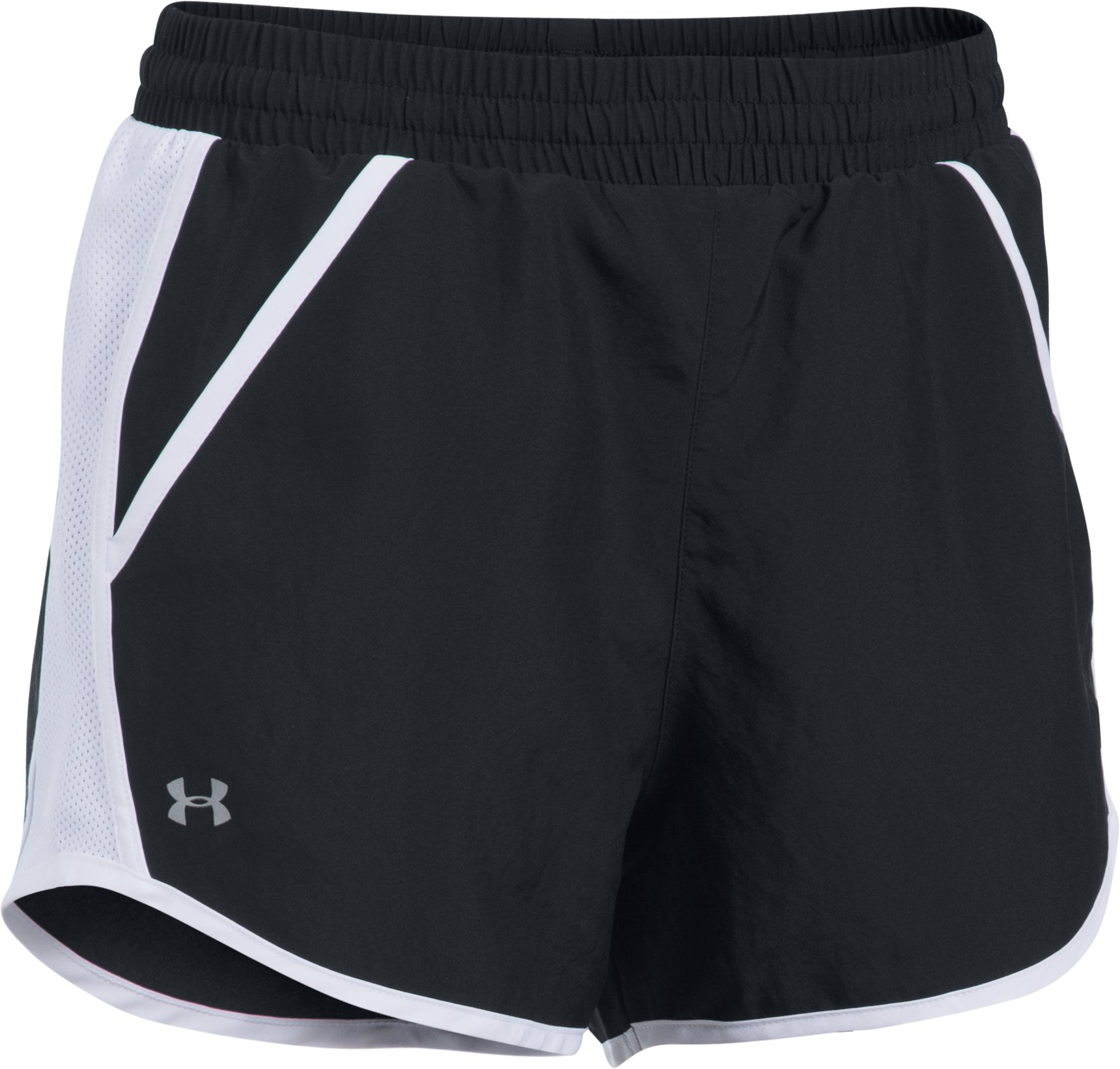 Women's UA Fly-By Shorts, Black , undefined