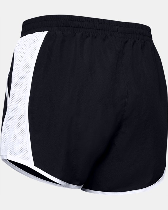 Women's UA Fly-By Shorts, Black, pdpMainDesktop image number 7