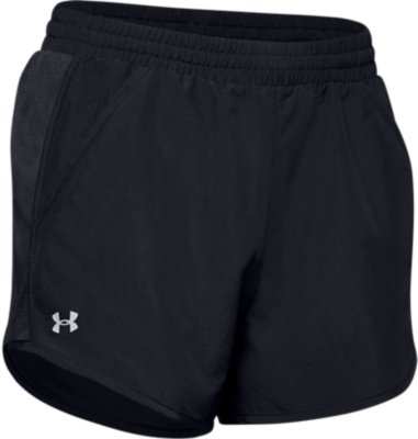 Under Armour Fly By 2.0 Nero Pantaloncini Donna XL
