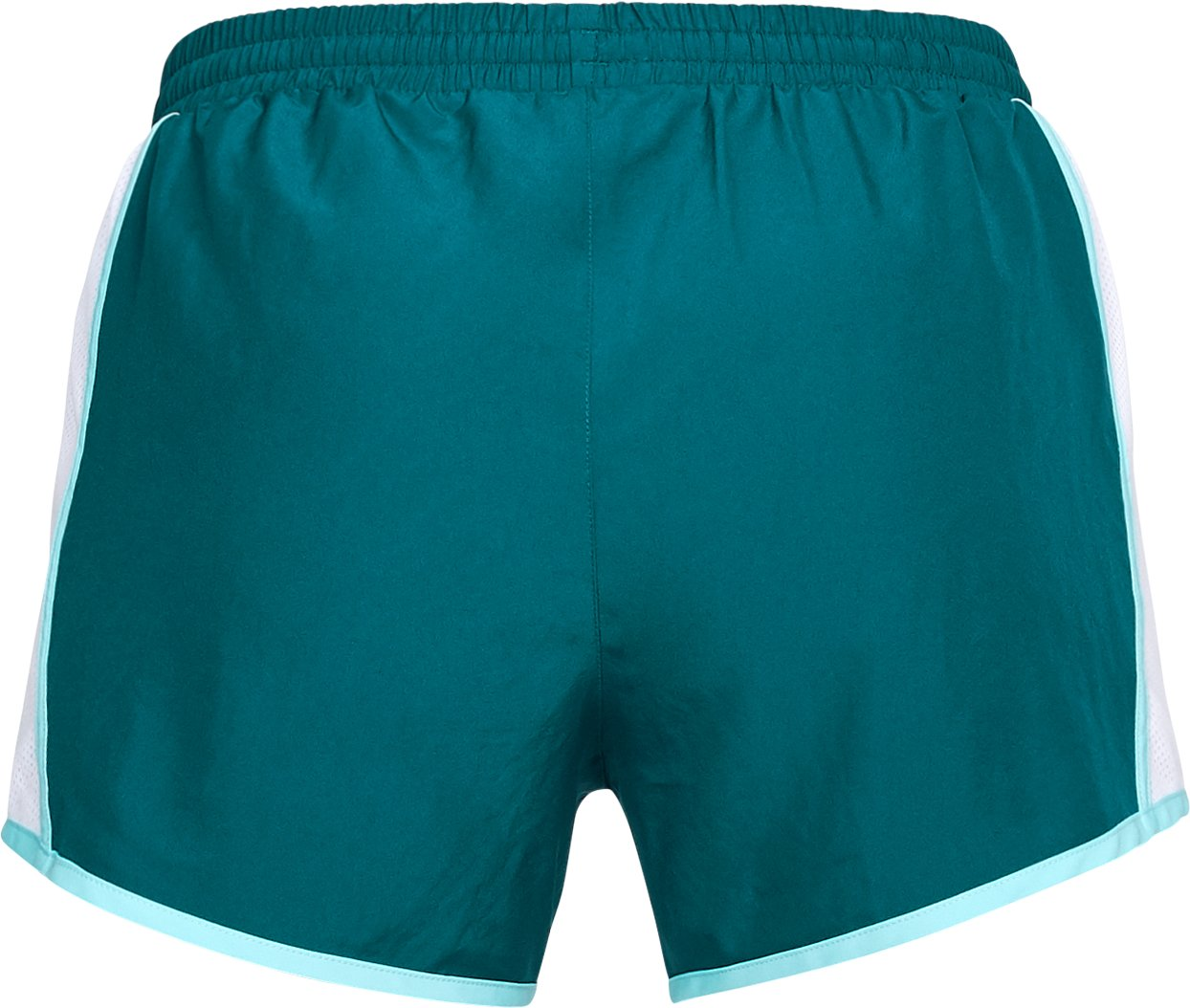 Women's UA Fly-By Shorts, TOURMALINE TEAL, undefined