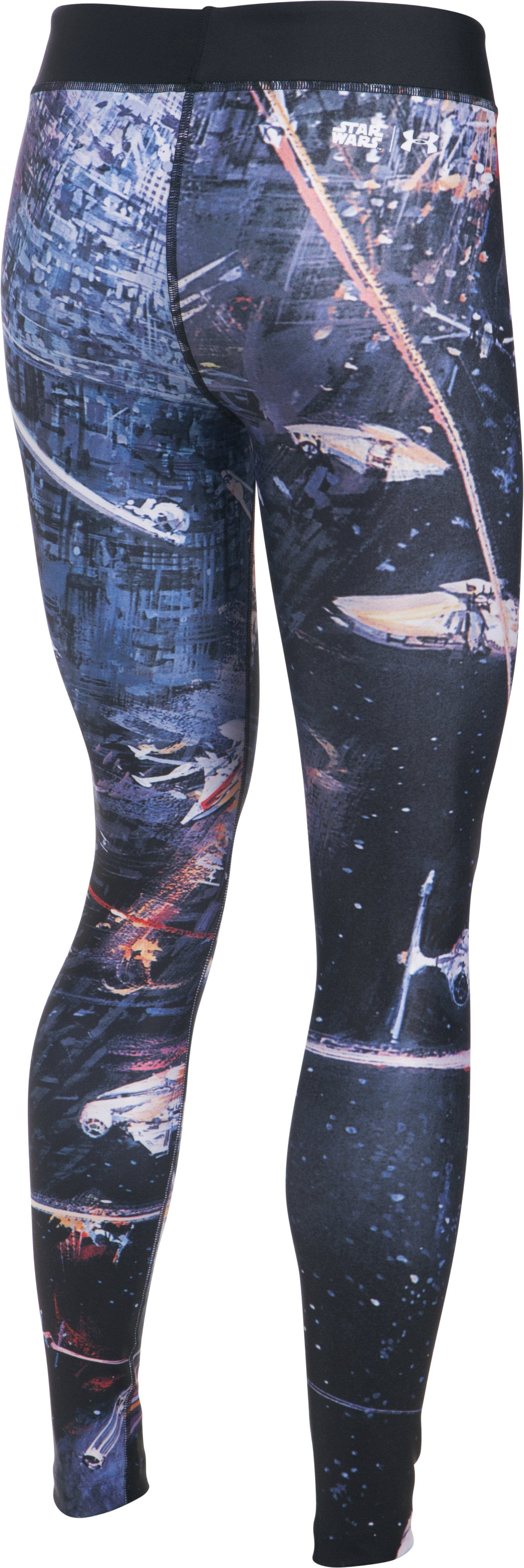 Women's Star Wars Fight Scene Leggings, Black , undefined