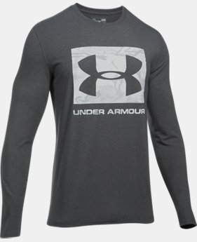 Men's UA Camo Knockout Long Sleeve T-Shirt  3  Colors Available $26.24 to $26.99