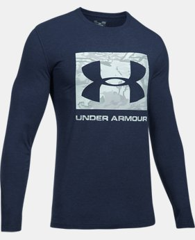 Men's UA Camo Knockout Long Sleeve T-Shirt  4  Colors $29.99