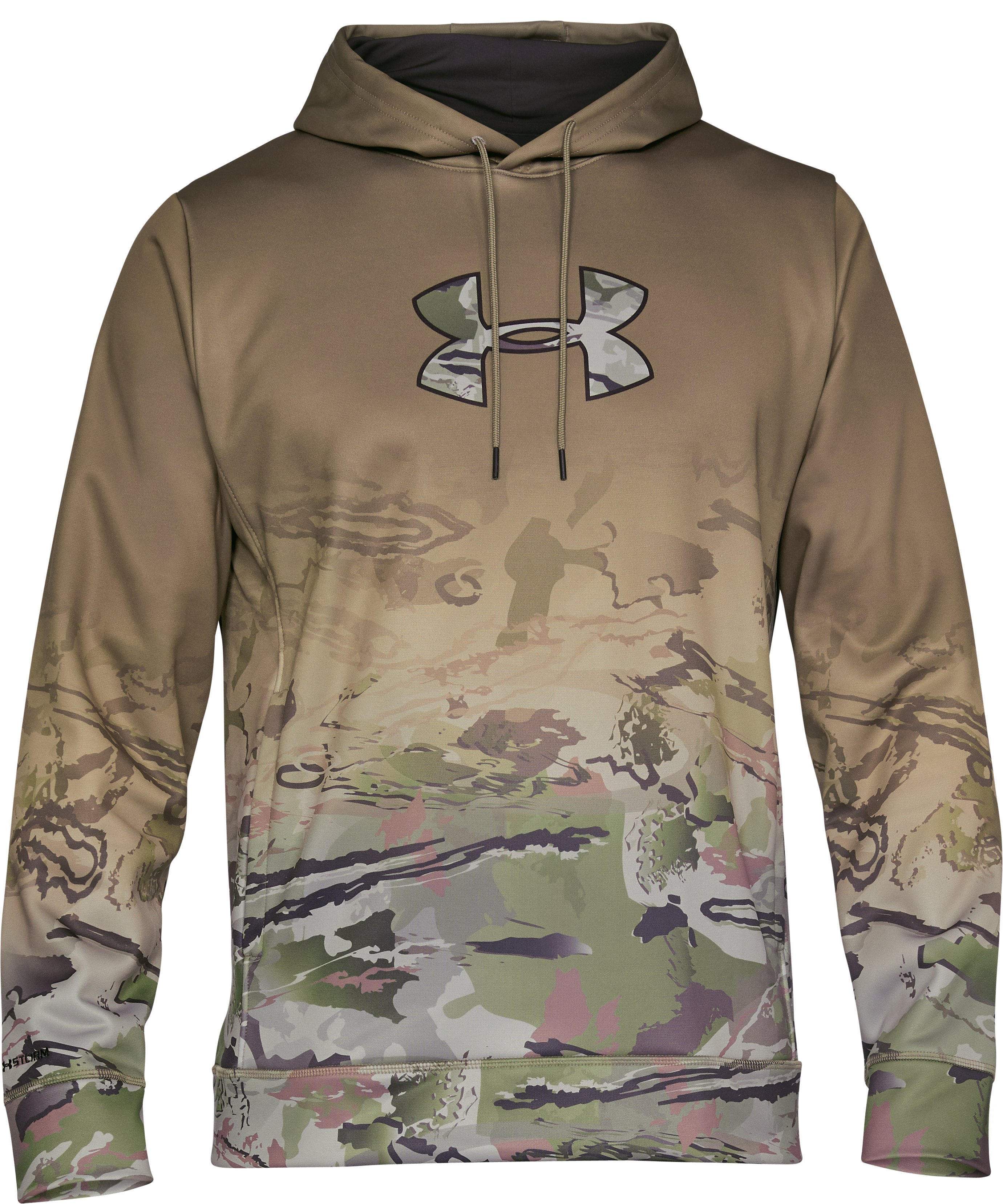 Men's UA Storm Caliber Faded Hoodie, Bayou, undefined