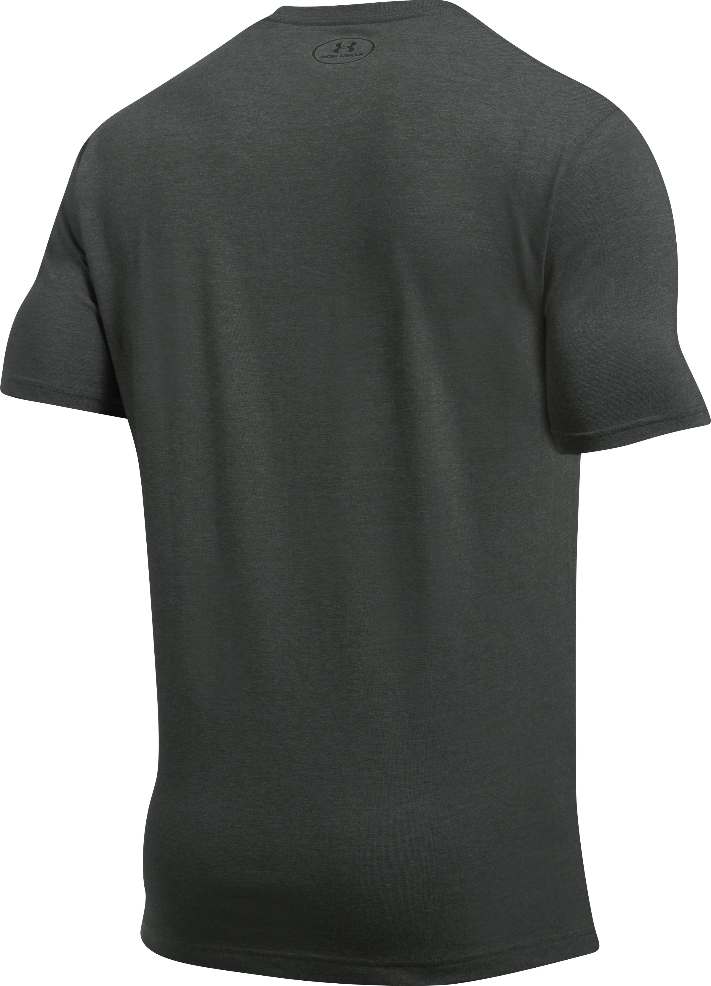 Men's UA Whitetail Pill T-Shirt, CHARCOAL MEDIUM HEATHER,