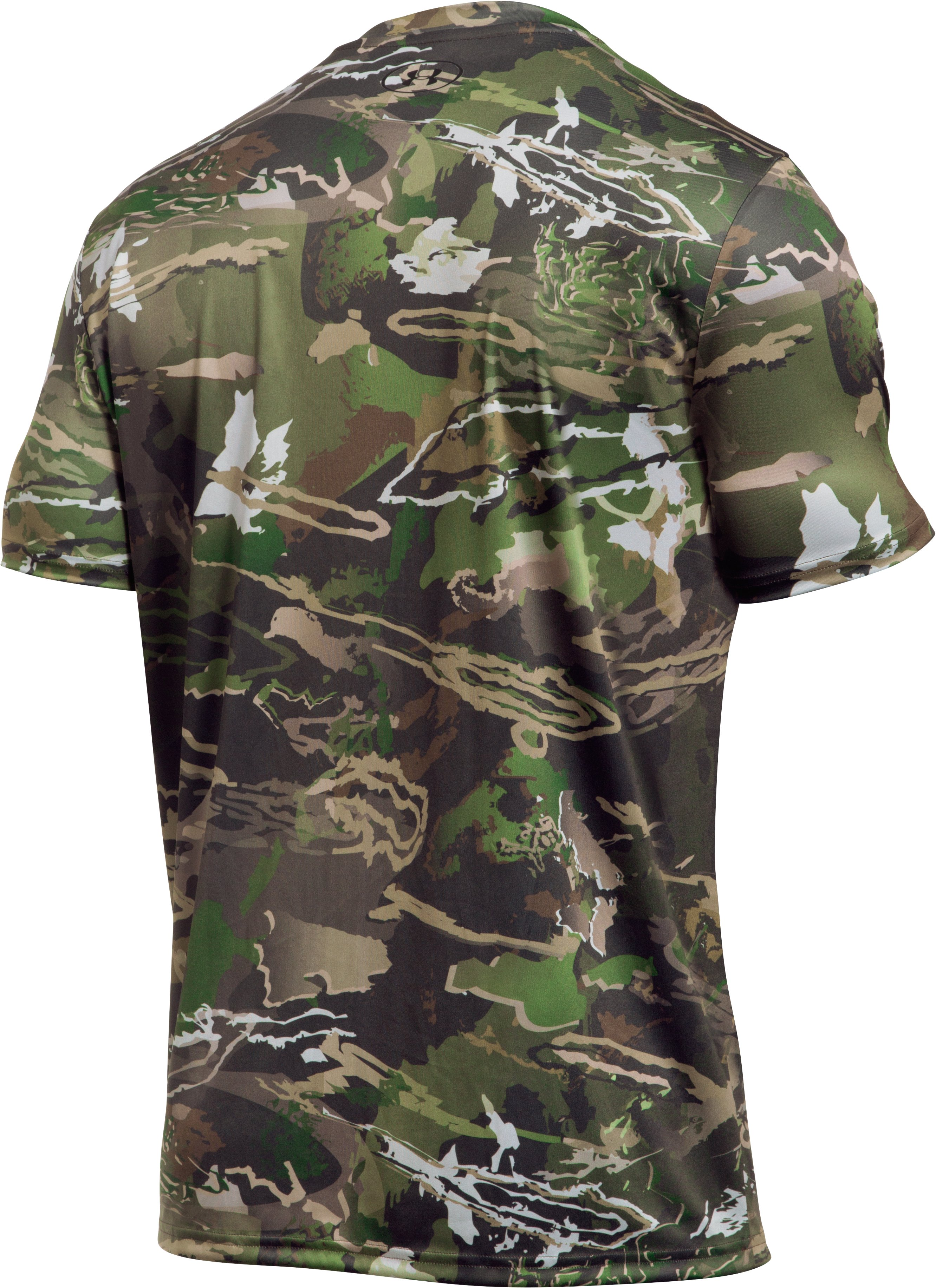 Men's UA Camo Tag Shorts Sleeve, RIDGE REAPER® FOREST, undefined