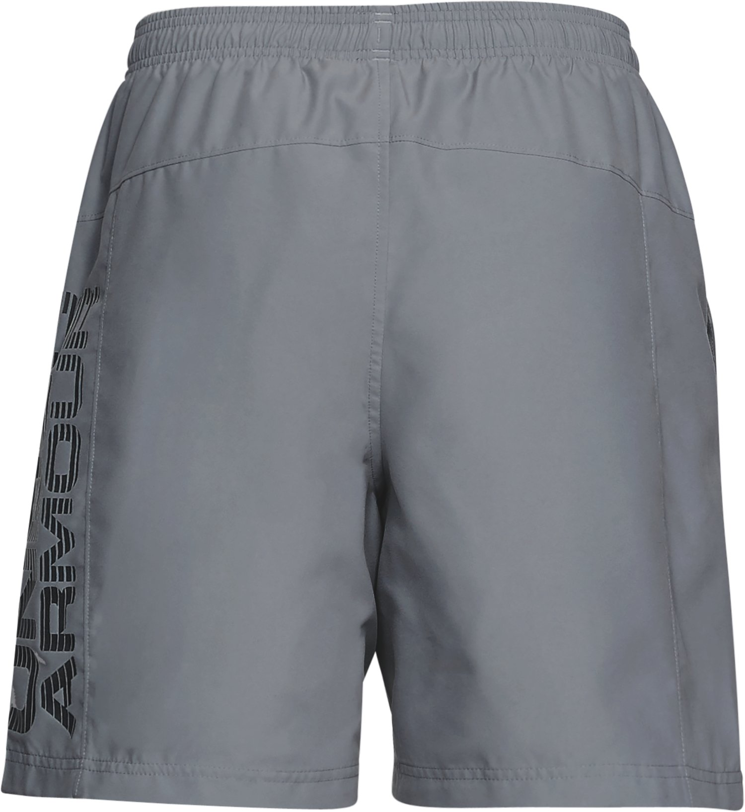 Men's UA Woven Graphic Shorts, Steel,