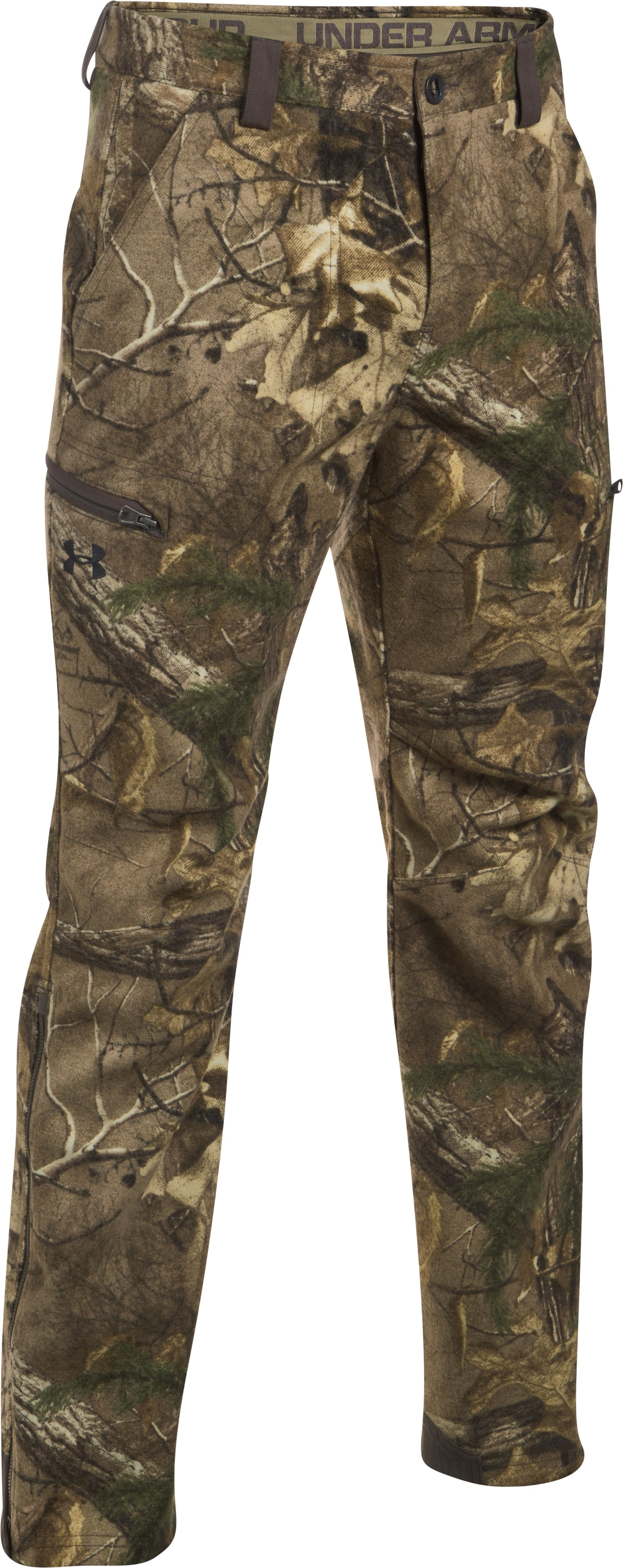 Men's UA Stealth Reaper Mid Season Wool Pants, REALTREE AP-XTRA