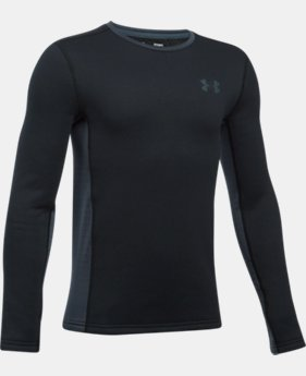 New Arrival  Boys' UA Base™ Extreme Long Sleeve  1 Color $64.99