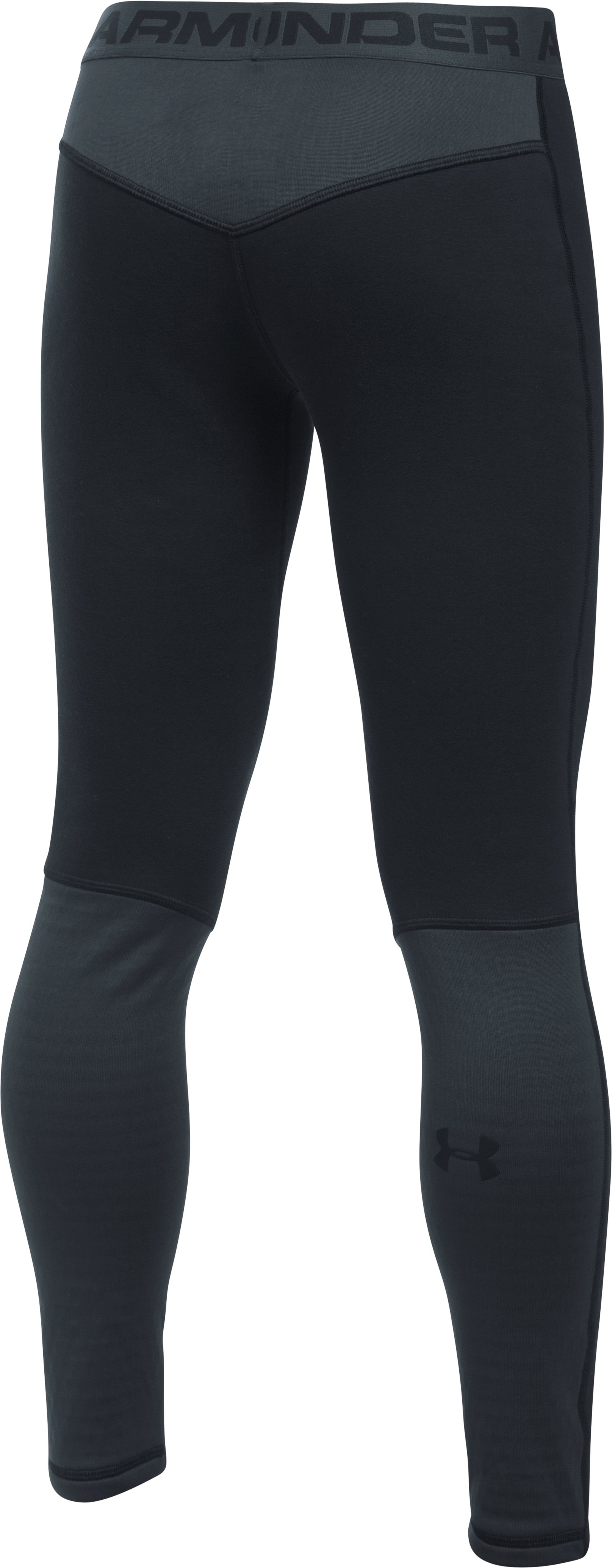 Boys' UA Base™ Extreme Leggings, Black ,