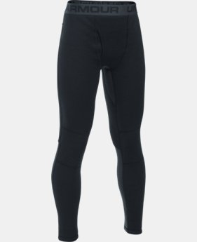 New Arrival  Boys' UA Base™ Extreme Leggings  1 Color $64.99