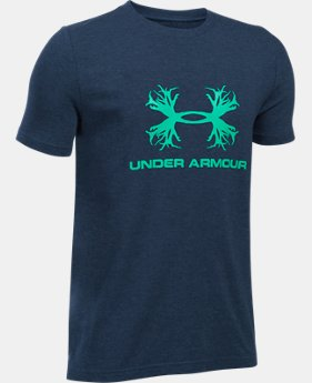 New Arrival  Boys' UA Antler Logo T-Shirt  1 Color $22.99