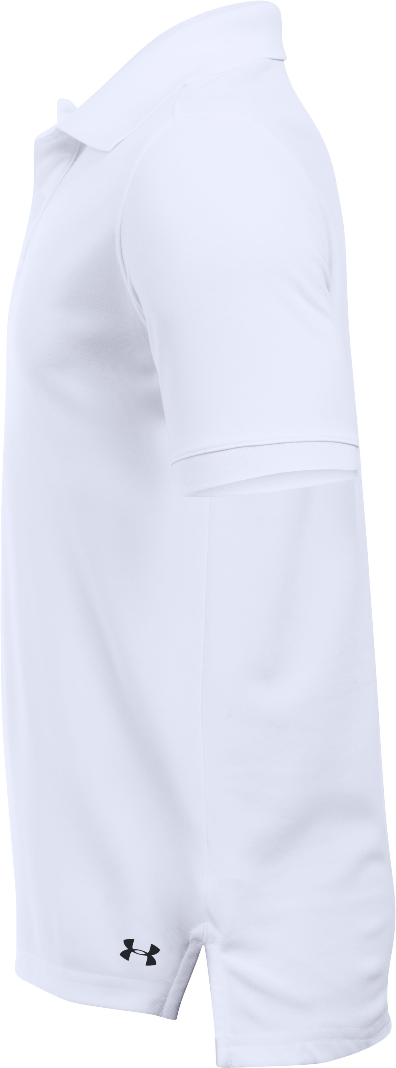 UA Uniform Short Sleeve Polo – Pre-School, White,