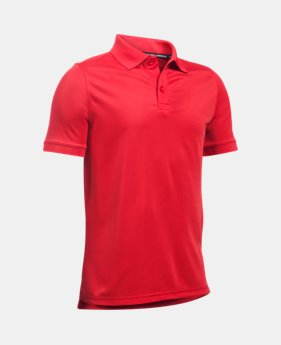0527f6a0a Boys UA Uniform Short Sleeve Polo 4 Colors Available $29.99