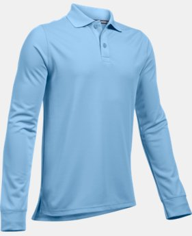 Boys' Pre-School UA Uniform Long Sleeve Polo  2 Colors $31.99