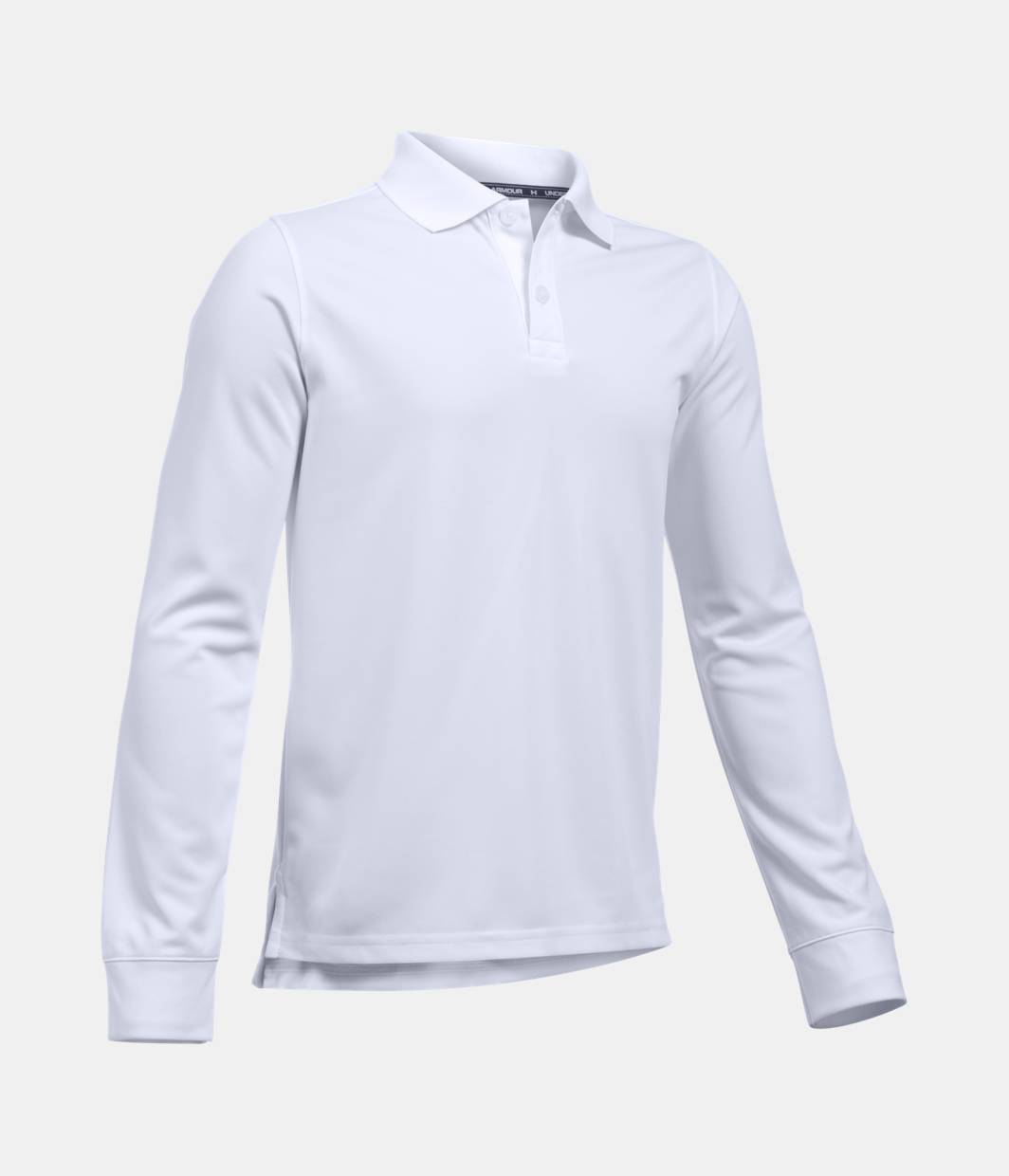 24ccdb0b7155c6 Boys  UA Uniform Long Sleeve Polo 2 Colors Available  46.99