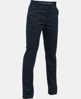 Boys' Pre-School UA Slim Fit Uniform Chino Pants LIMITED TIME: FREE U.S. SHIPPING 1 Color $49.99