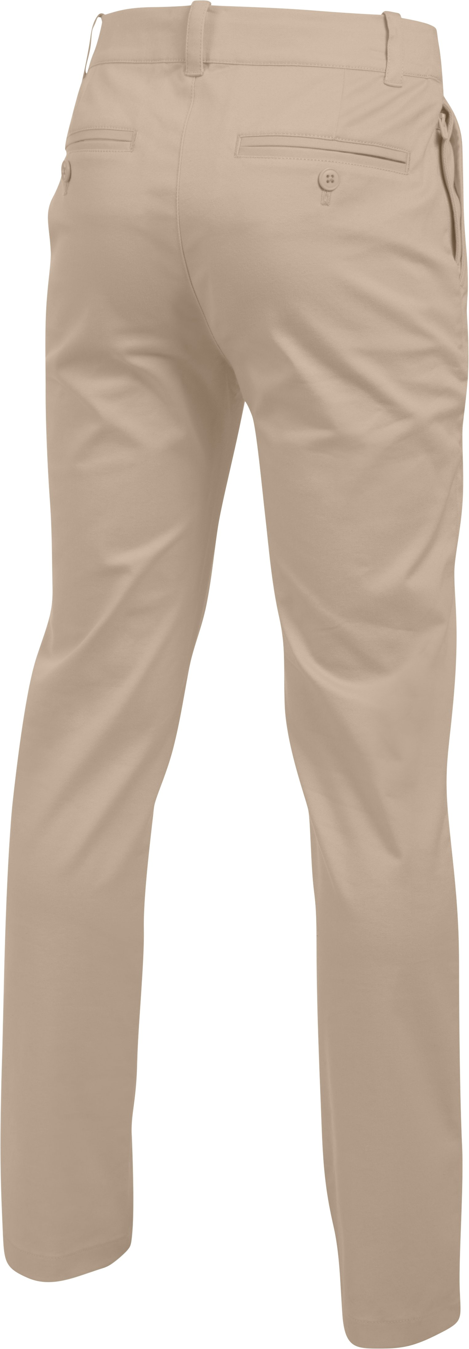 Boys' UA Uniform Chino Pants, Desert Sand,