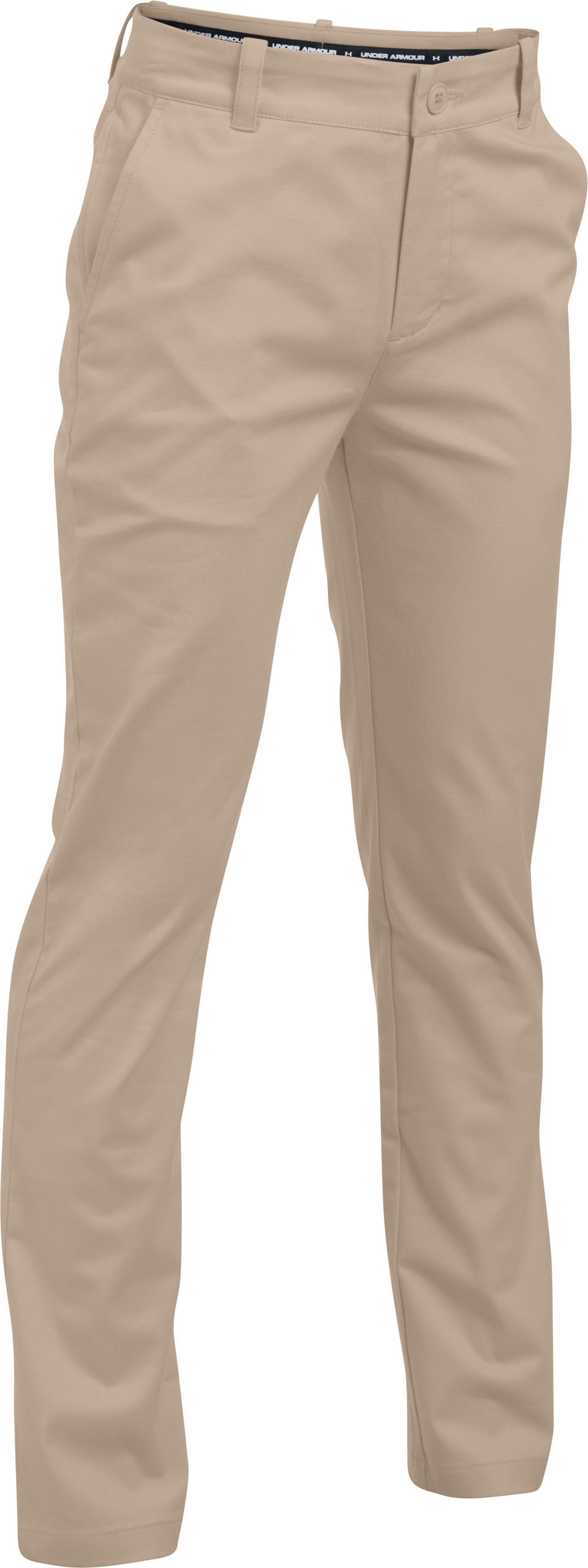 Boys' UA Uniform Chino Pants, Desert Sand
