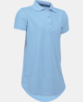 Girls' UA Uniform Short Sleeve Polo LIMITED TIME: FREE SHIPPING  $29.99
