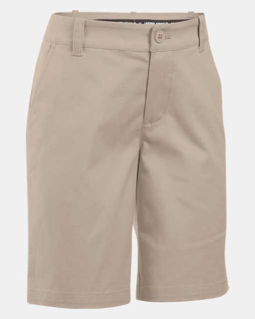 Girls' UA Uniform Chino Shorts