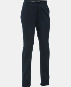 Girls' UA Uniform Chino Pants – Plus Size   $54.99