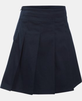 Girls' UA Uniform Skort – Pre-School   $39.99