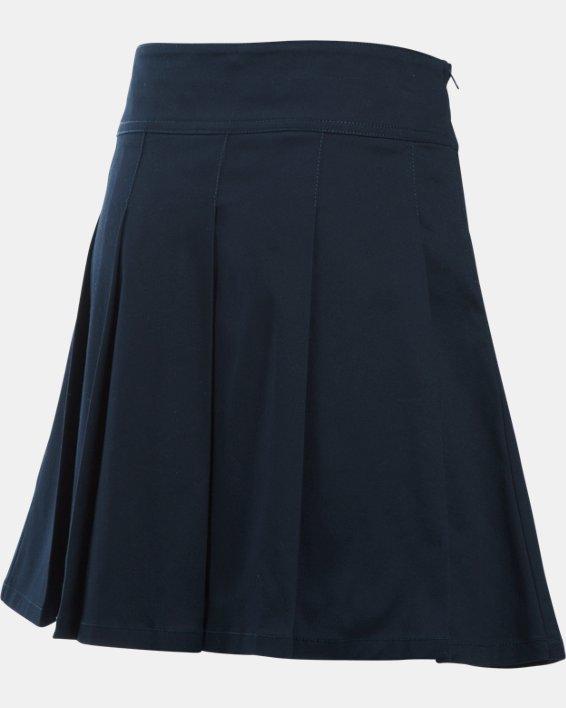 Girls UA Uniform Skort, Blue, pdpMainDesktop image number 1