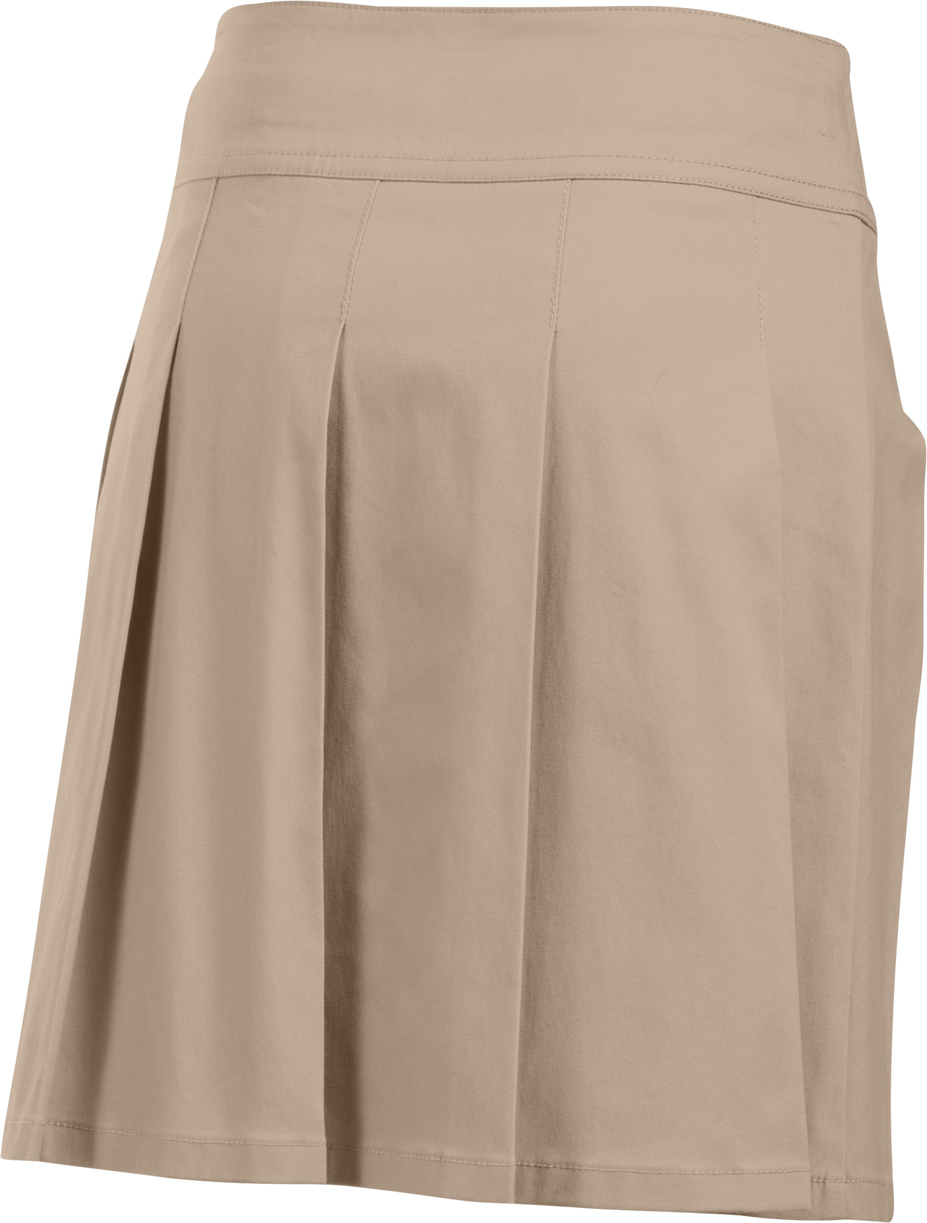 Girls UA Uniform Skort, Desert Sand, undefined