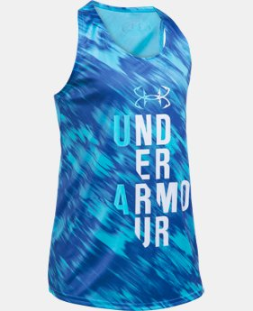 Girls' UA Tech™ Tank  2 Colors $18.99