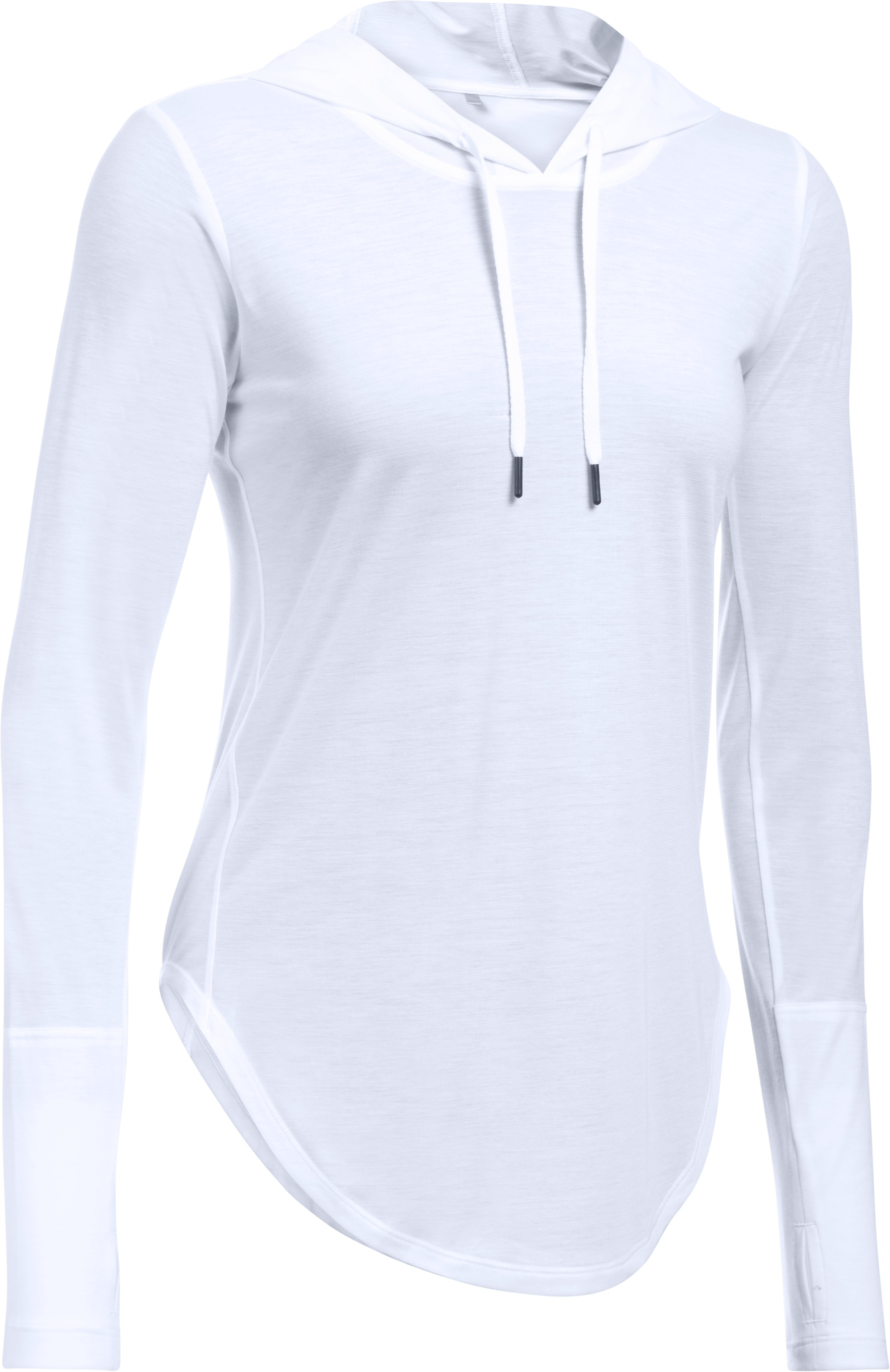 Women's UA Supreme Hoodie, White, undefined