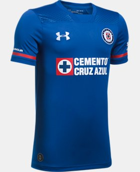 New to Outlet Kids' Cruz Azul Replica Home/Third Jersey  1 Color $49