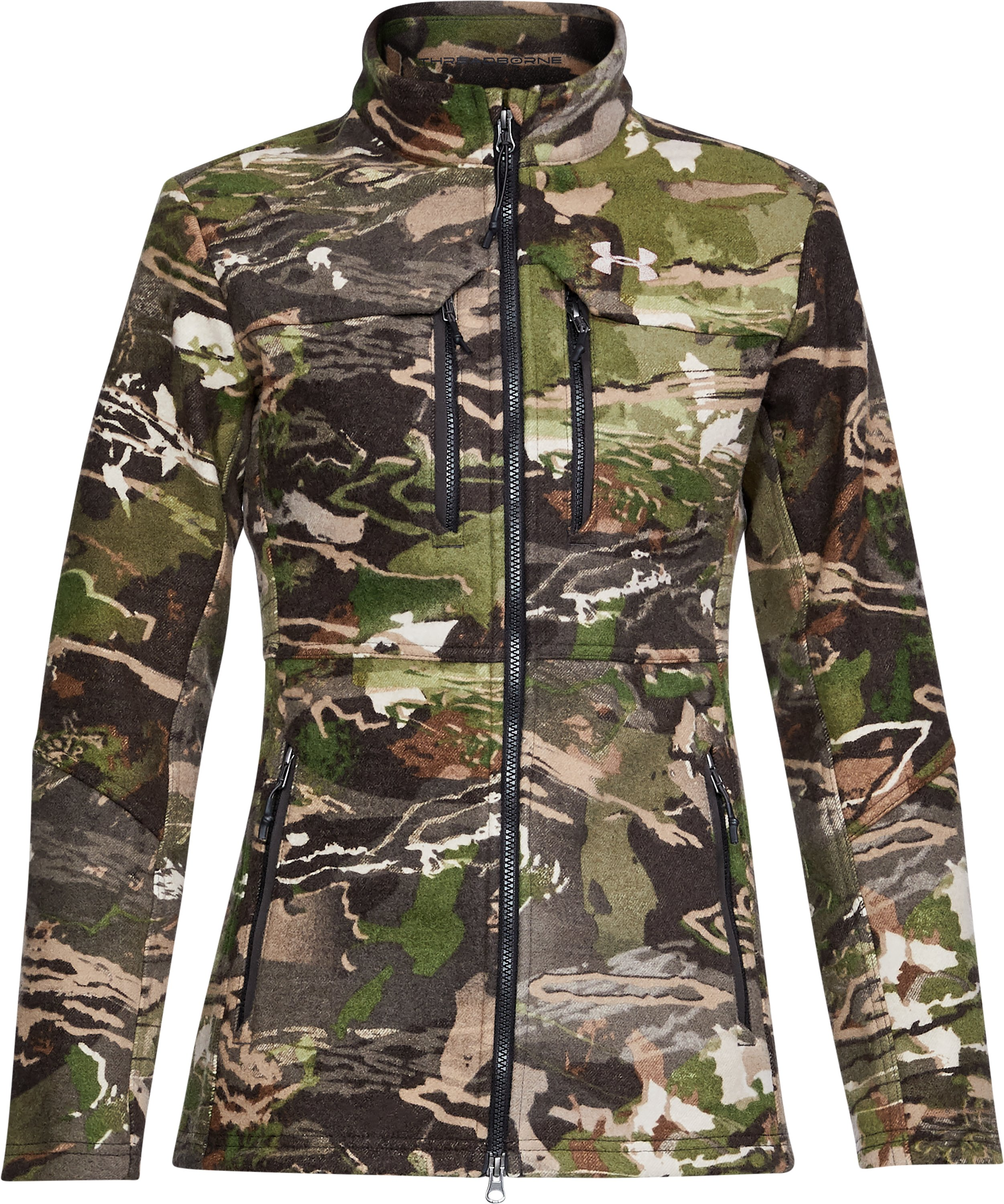 Women's UA Mid Season Wool Jacket, RIDGE REAPER® FOREST,
