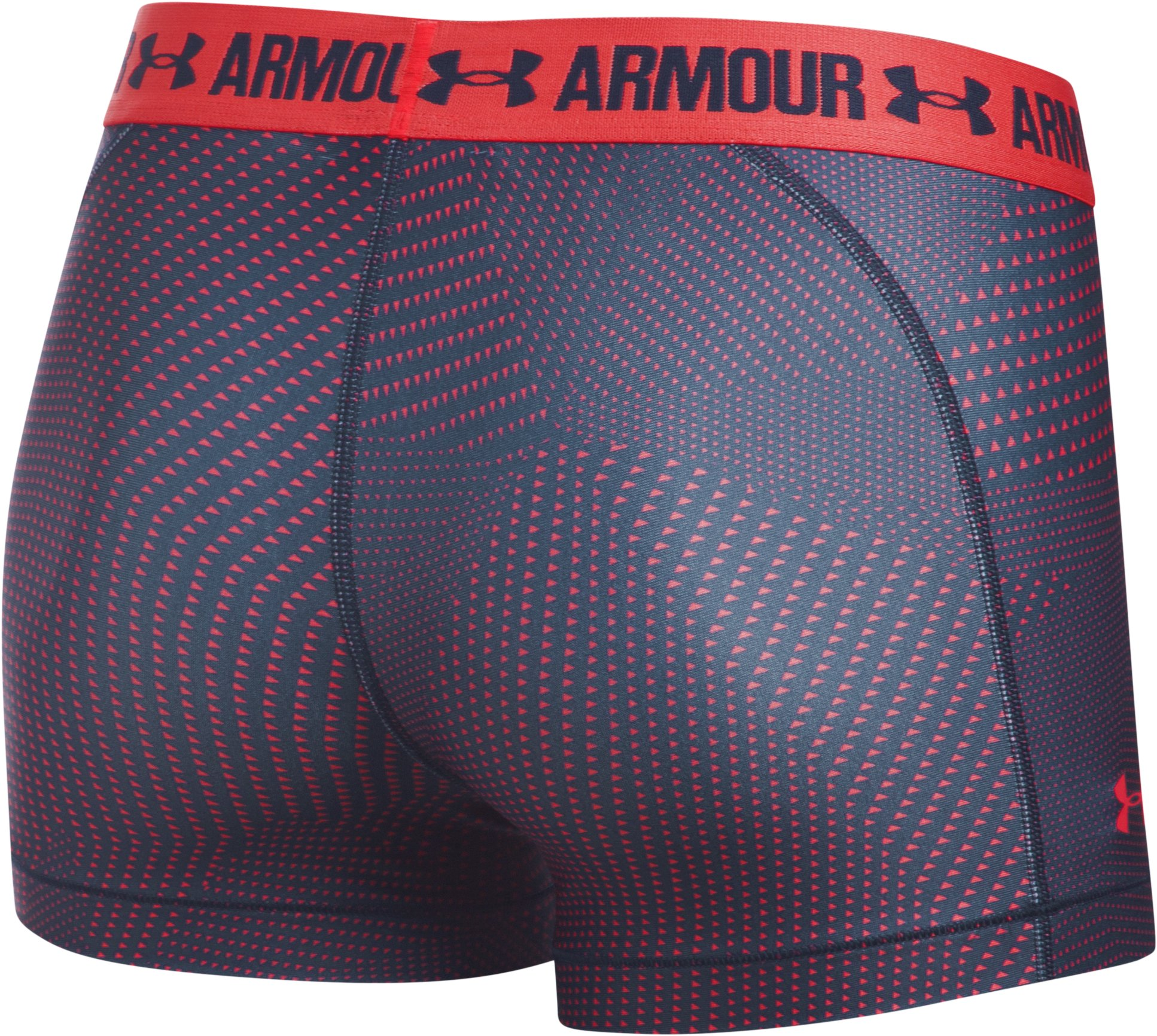 Women's UA HeatGear® Armour Printed Shorty, Midnight Navy,