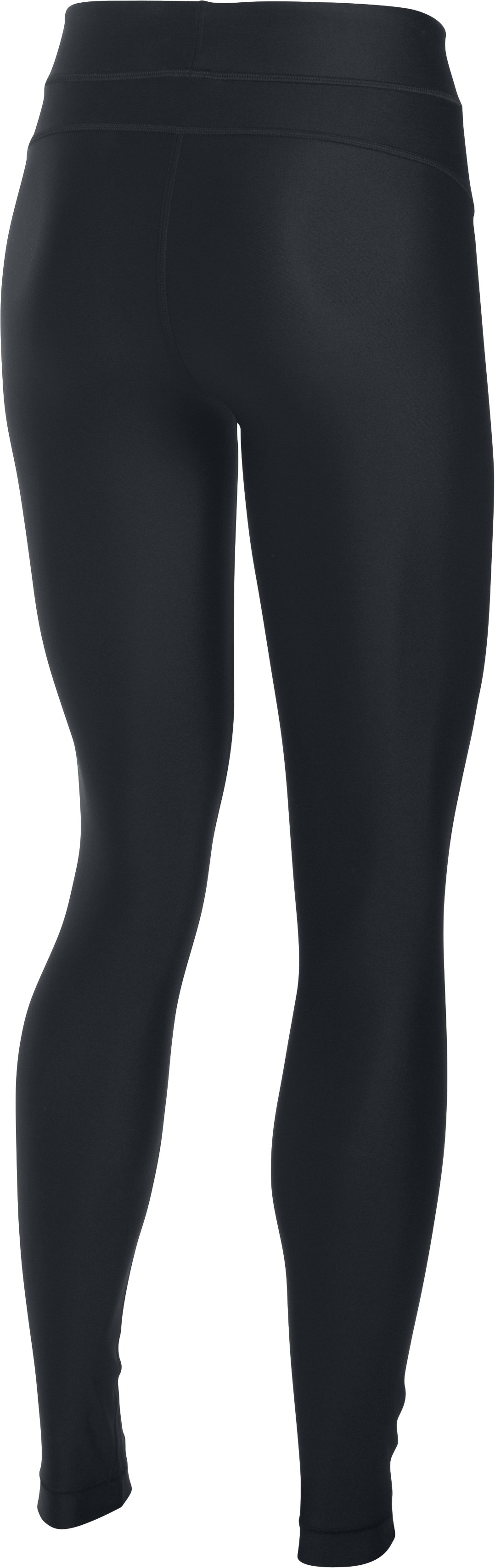 Women's UA HeatGear® Armour Leggings, Black , undefined